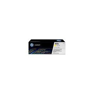 TONER HP JAUNE LaserJet Pro 300Pro 400Pro M451 - 305A - CE412A - CE411-67901 - 2600 pages