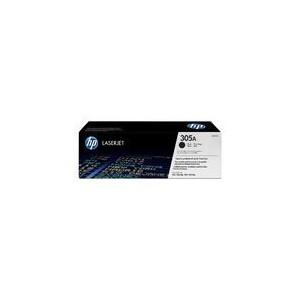 TONER HP NOIR LaserJet Pro 300Pro 400Pro M451 - 305A - CE410A - CE410-67901 - 2600 pages