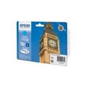CARTOUCHE EPSON CYAN WorkForce Pro WP-4015DN - 800 PAGES - C13T070324010