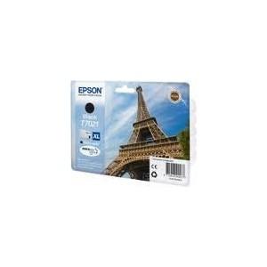 CARTOUCHE EPSON NOIRE WorkForce Pro WP-4015DN - XL 2400 PAGES - C13T70214010