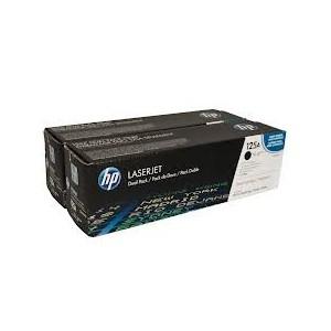 PACK 2 TONERS HP NOIR LASERJET CM1312/CP1215/1515/1518 - 2200 pages - CB540AD