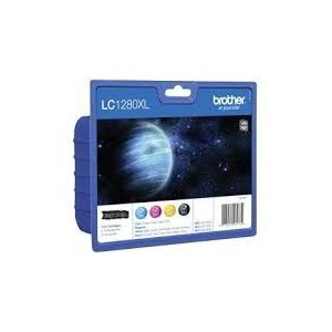 PACK CARTOUCHES BROTHER LC1280 - LC-1280XLVALBPDR