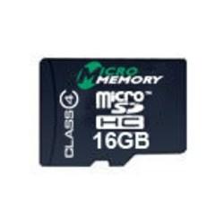 Carte mémoire 16Gb MicroSDHC Class4 - MMMICROSDHC4/16GB - Gar.7 ans