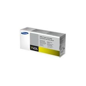 TONER SAMSUNG JAUNE CLP-360, CLP-365, CLX-3300 - CLT-Y406S - 1000 pages