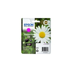 CARTOUCHE EPSON MAGENTA N°18 XP-102, XP-205, XP-405 - C13T18034010 - 3.3ml, ~180 pages, Standard