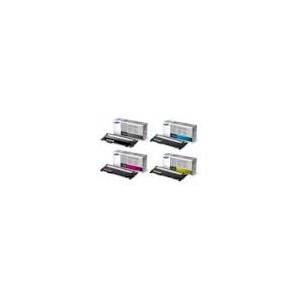 Pack Toners Noir, Cyan Magenta, Jaune Samsung CLX-3305 - CLT-P406S - CLT-P406C