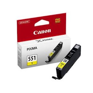 CARTOUCHE JAUNE Canon - 7ml 330 pages - 6511B001 - CLI-551Y