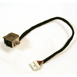 Connecteur carte mère DC Jack + Cable - HP Envy 17T-1000 17-2280NR - 19cm