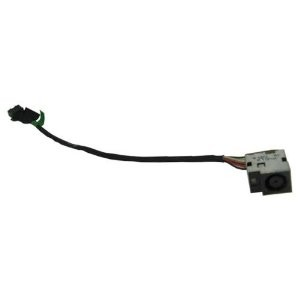 Connecteur carte mère DC Jack + Cable - HP Pavilion DV7-7000 series - 681974-001 - 10 pins - 120W